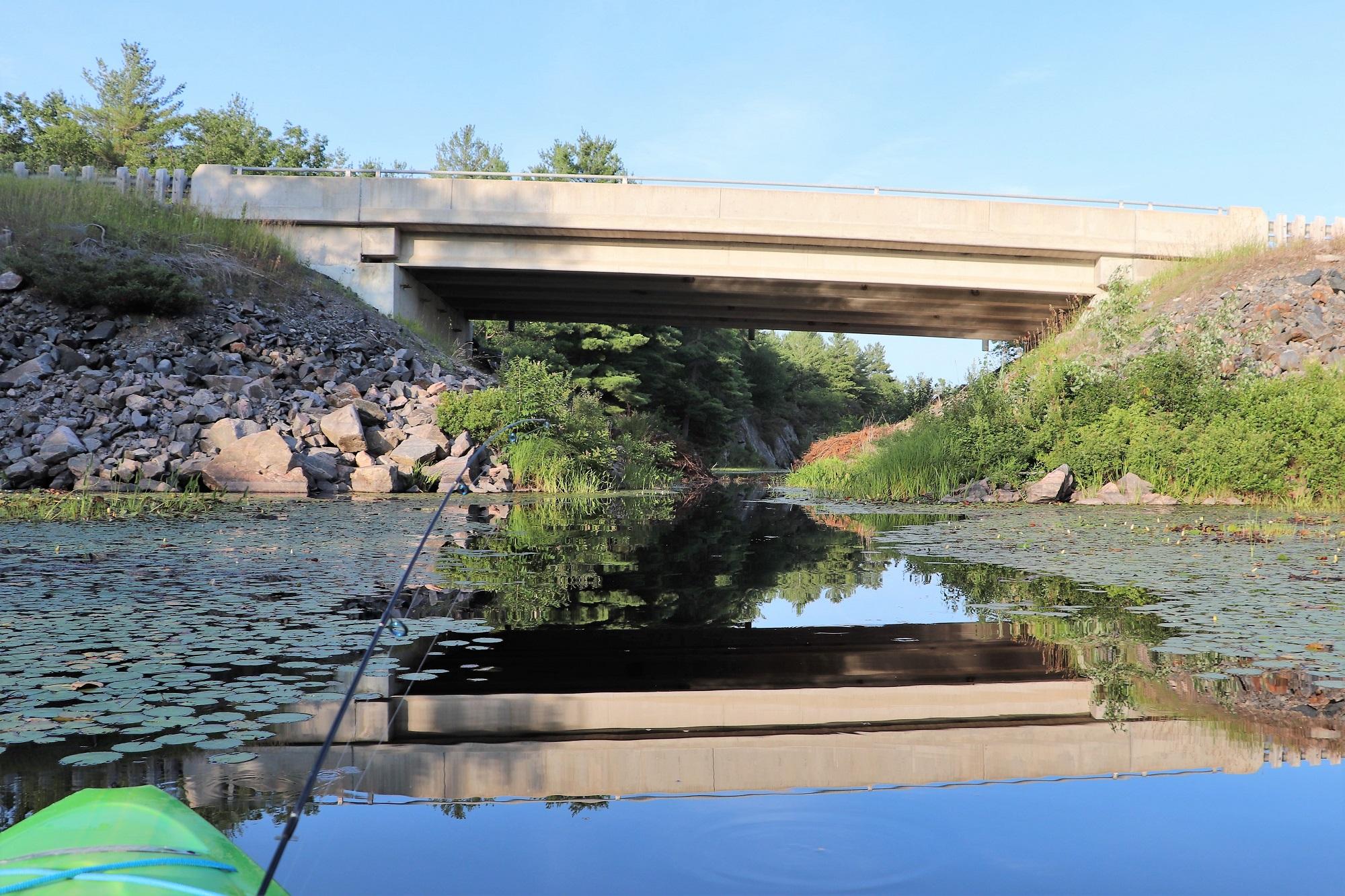 Mellon Lake CR41 Bridge
