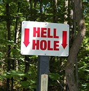 Hell Holes Nature Trails
