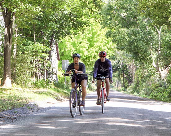 On-Road Cycling in L&A