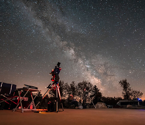 See the Night Sky